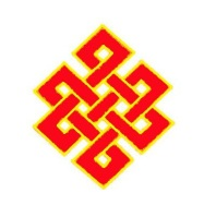 Nudo místico,sin fin, eterno, feng shui